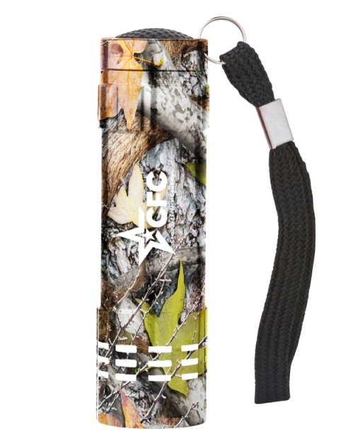 Renegade Aluminum Flashlight – 2013 discount pricing with one color imprint $2.49 / 200 unit minimum. Can be run with any artwork. Stock colors: Black, Blue, Green, Orange, Red, Silver, Pink, Purple, Teal, Carolina Blue.