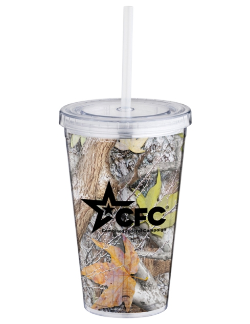 16 oz. Everyday Plastic Cup Tumbler – 2013 discount pricing with one color imprint $3.29 / 150 unit minimum. Can be run with any artwork. Stock colors: Blue, Red, Orange, Pink, Black, Green, Purple, Carolina Blue.