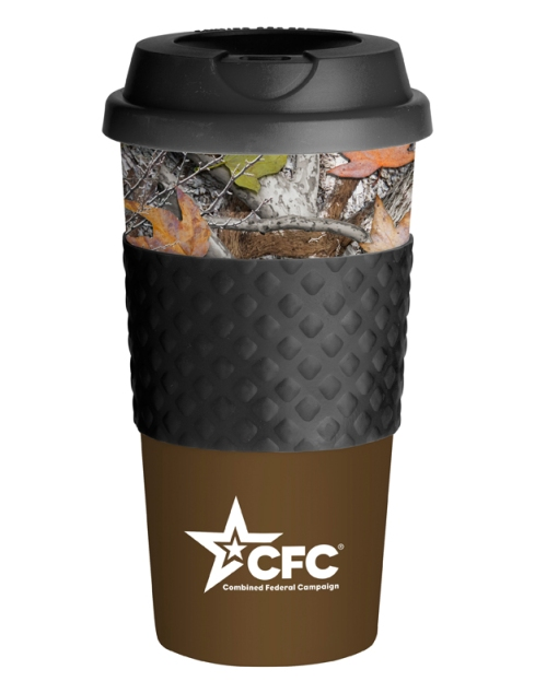 Wake-Up Classic Coffee Cup – 2013 discount pricing with one color imprint $3.29 / 150 unit minimum. Can be run with any artwork. Stock colors: Blue, Green, Orange, Red, Brown, Black, Pink, Navy, Teal, Carolina Blue.